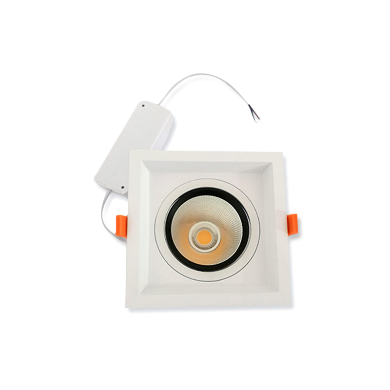 360° Angle Adjustable Square LED Ceiling Light Downlight