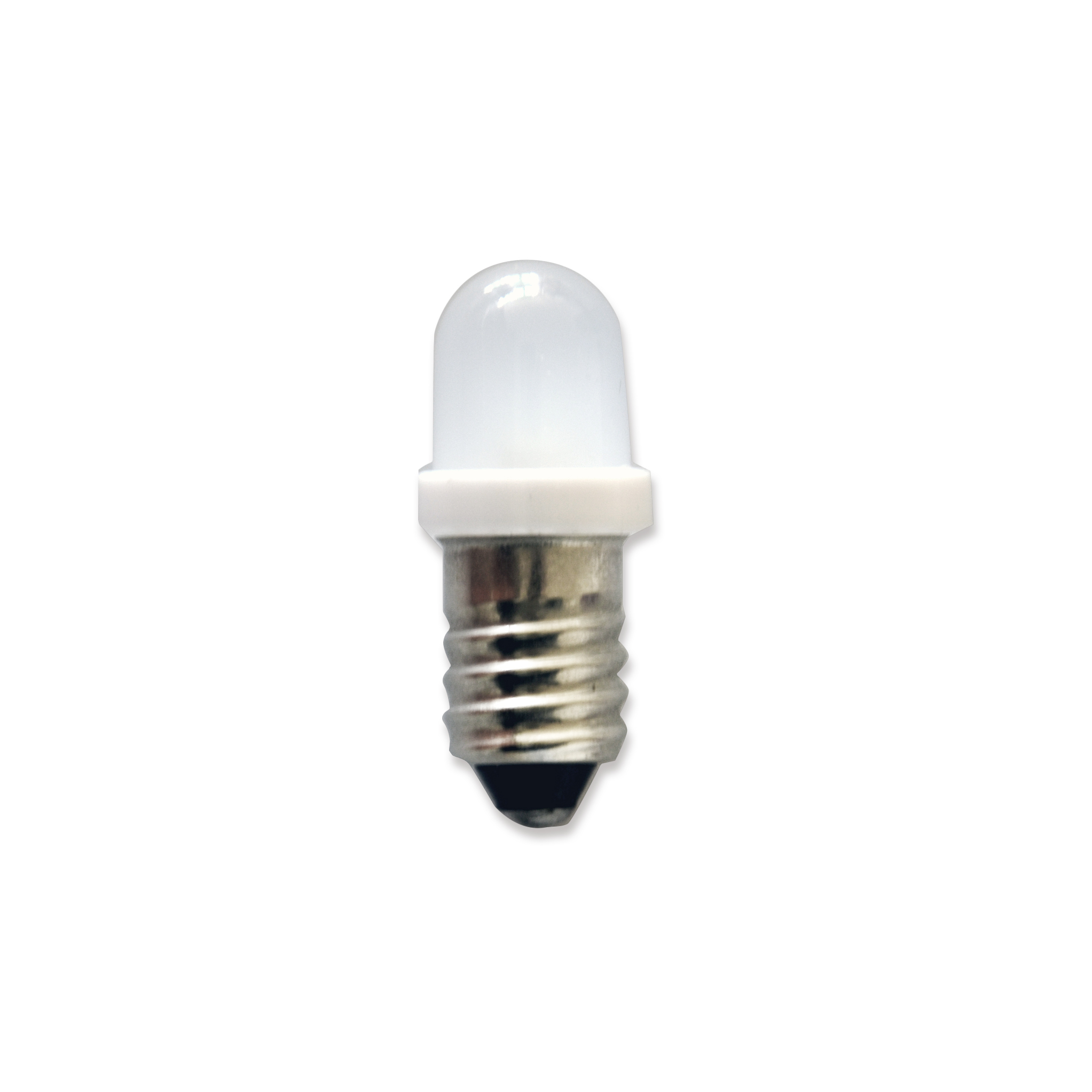 E10 LED Bulb Frosted/ Water Clear Lens 3000K-7000K
