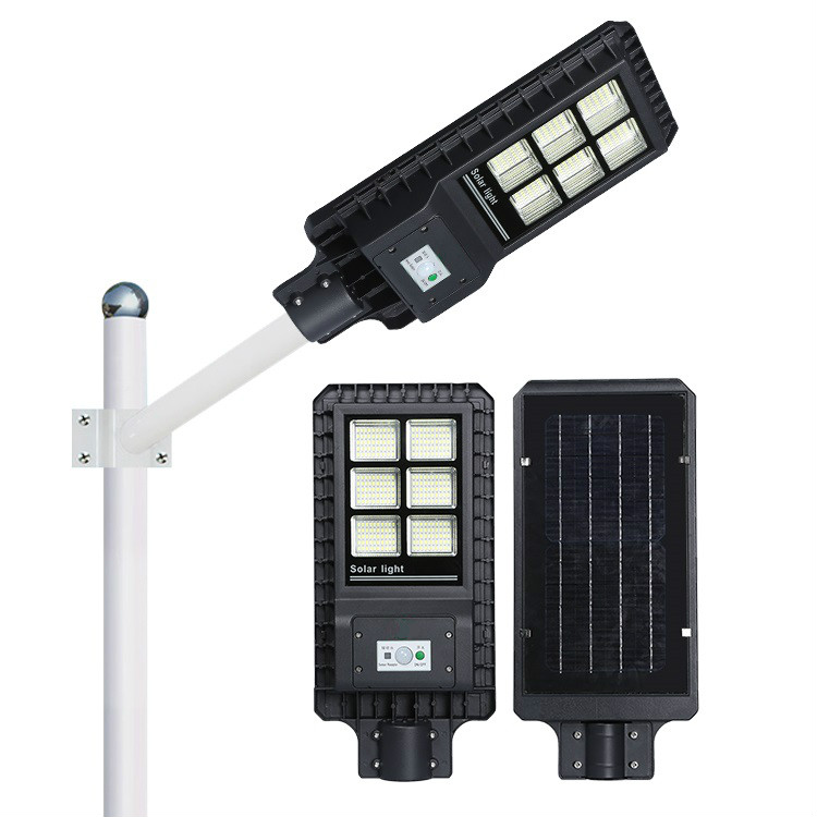 60w 120w 180w high brightness aluminum alloy all in one solar street light with remote controller an