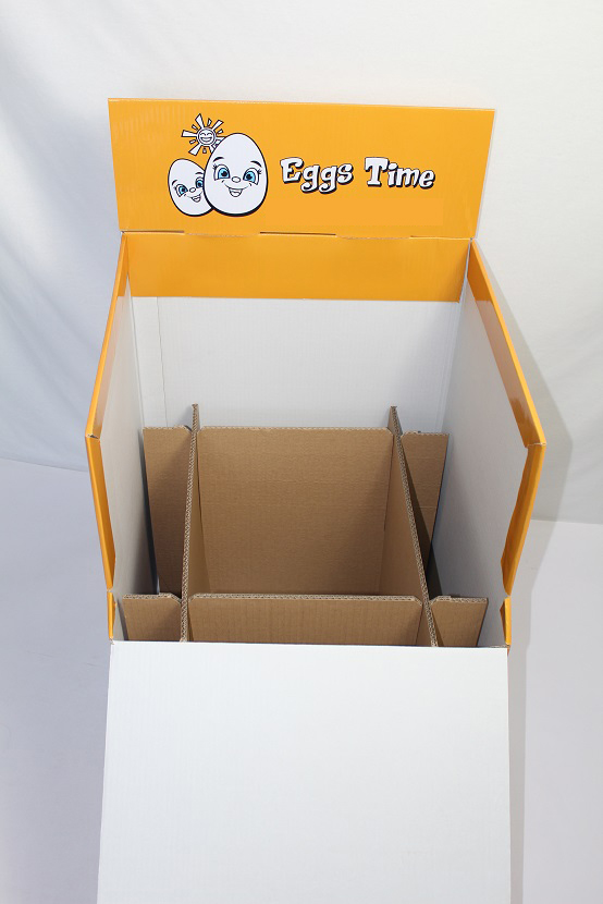 SAFEKA -Custom Printed Factory, Cardboard Dump Bins For Retail | Safeka-8
