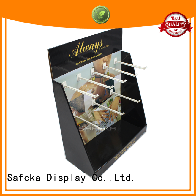 SAFEKA colorful display counter at discount direct manufacturer