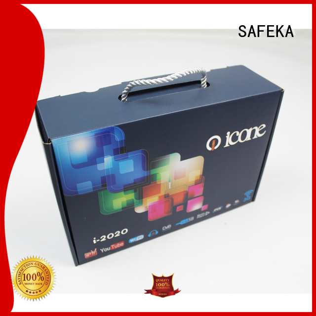 SAFEKA new custom cardboard boxes supplies for store