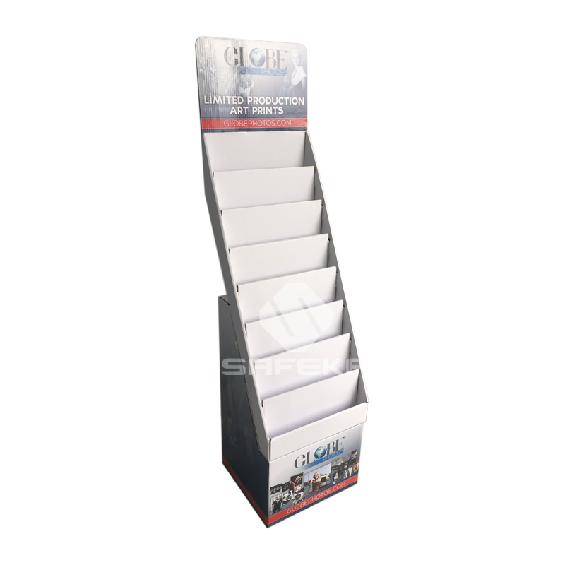 Pop Supermarket cardboard greeting card display Stand SF1128
