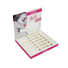 Paperboard Pop Makeup Counter Retail Display Stand for Eyelashes SC1129