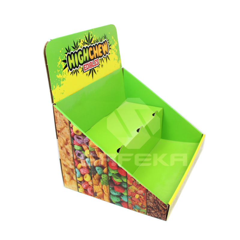 Wholesale Promotion Cardboard 2 Tier Display Stand for Candy SC1135