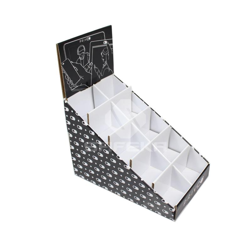 Mobile Phone Cases Custom Cardboard Display Boxes SC1141