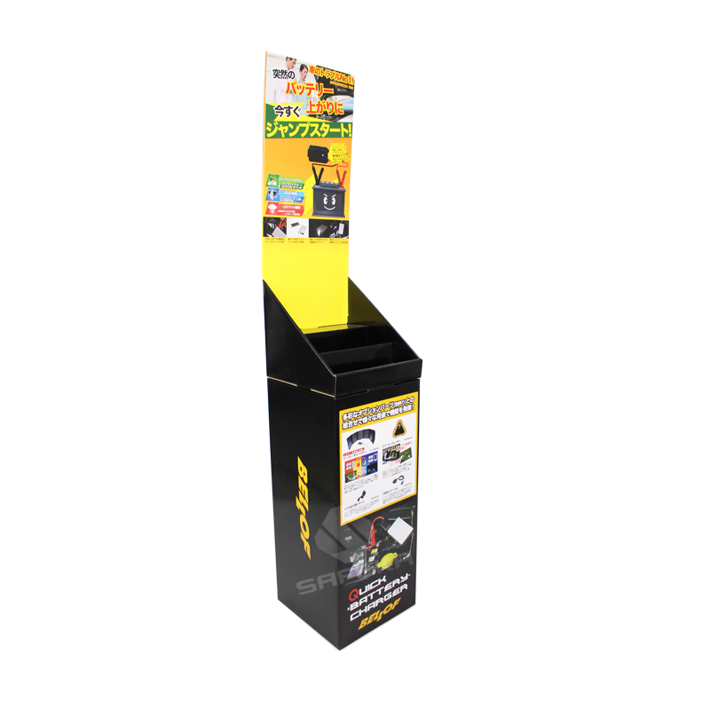 Merchandise Cardboard Dump Bin Display for Battery SD1144