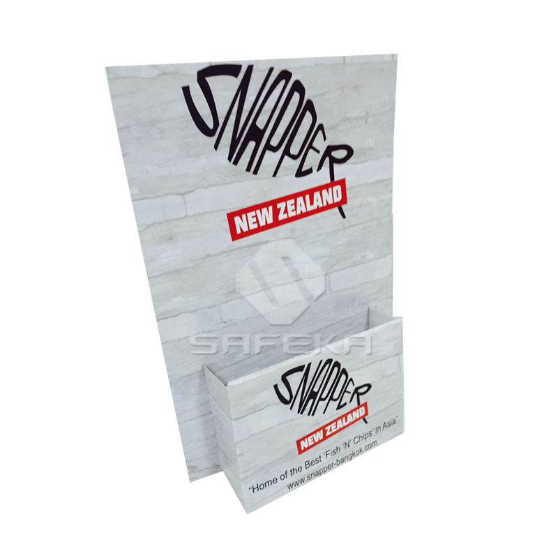Creative A4  Cardboard Brochure Holders Display Stand SS1164