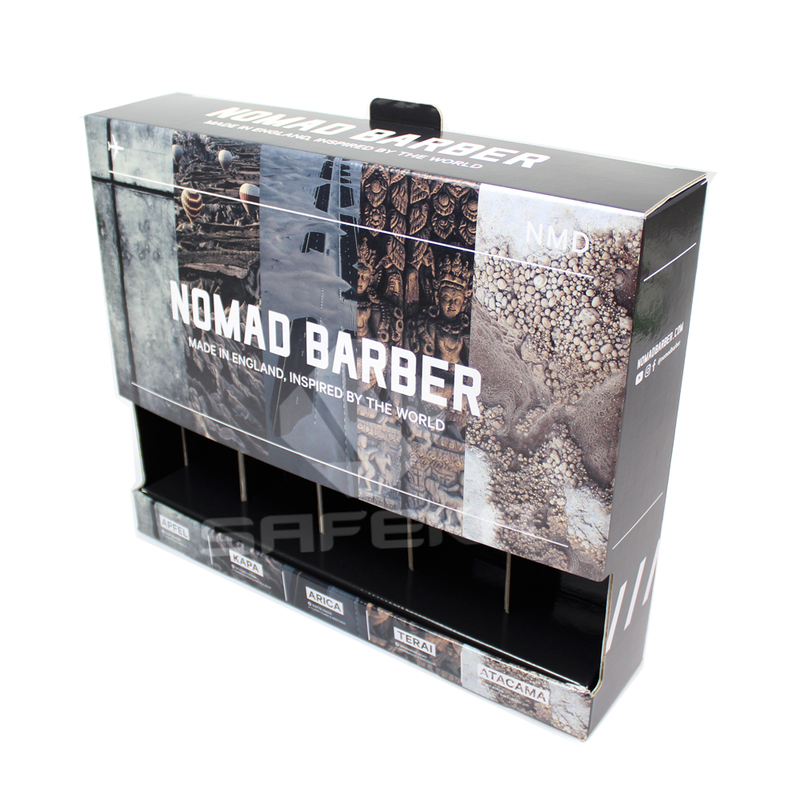 Customized Cardboard Retail Display Table Stand for Shoe polish SC11499