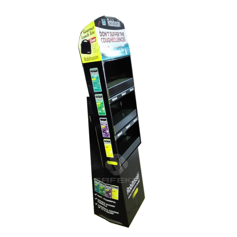 3 Tier Paper Display Stand for Drugstore SF1165