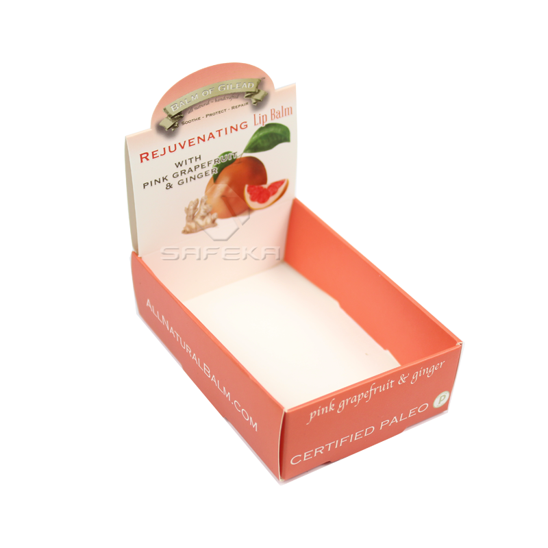 Cardboard Box Display for Lip Balm SC1166