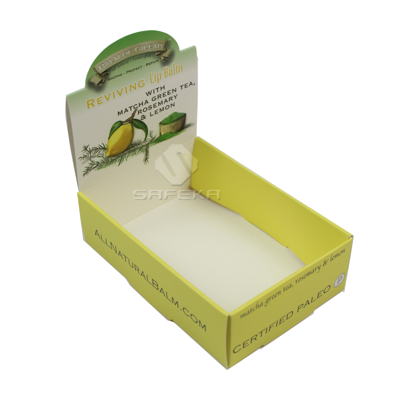 Cardboard Counter Display Boxes for Cosmetics SC1166-4
