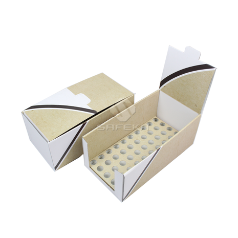 cardboard retail tube display boxes for essential oil SC1903