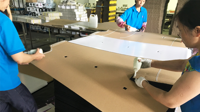 SAFEKA -The General Production Process Of Cardboard Corrugated Shelves-4
