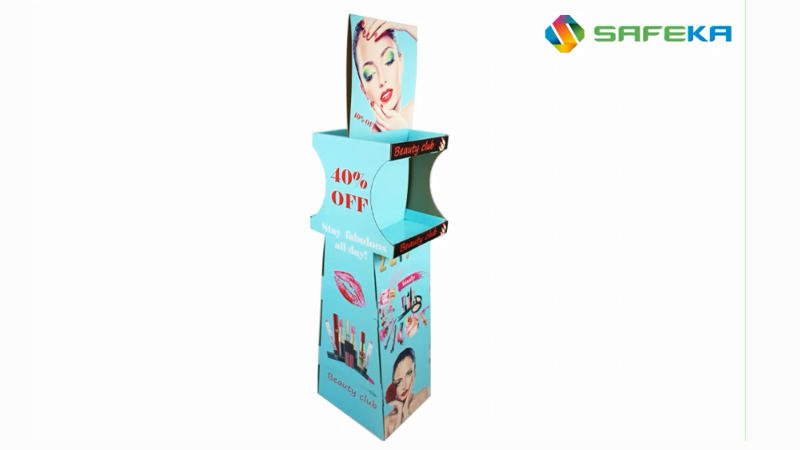 Makeup Floor Display Stand