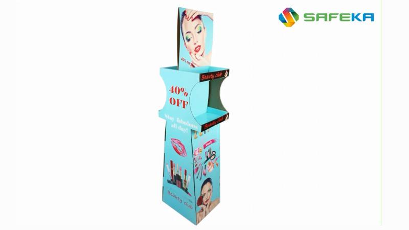 Makeup Floor Display Stand
