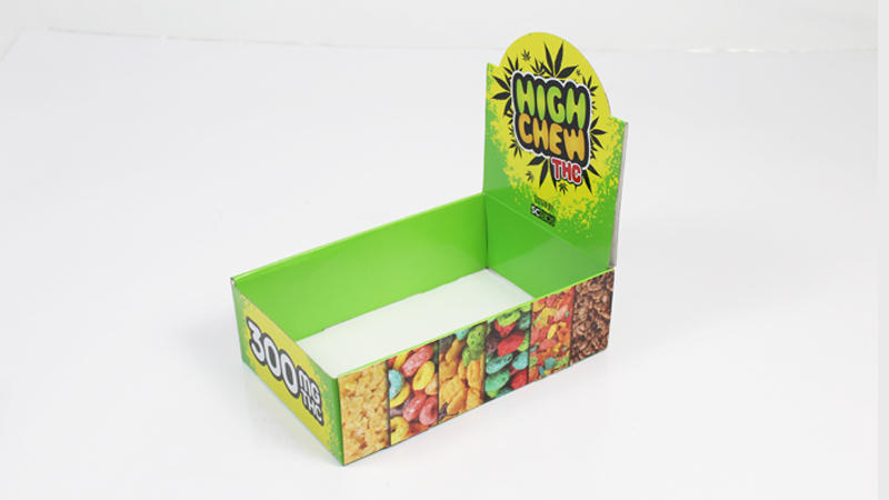 Shelf Ready Cardboard Candy Display Box