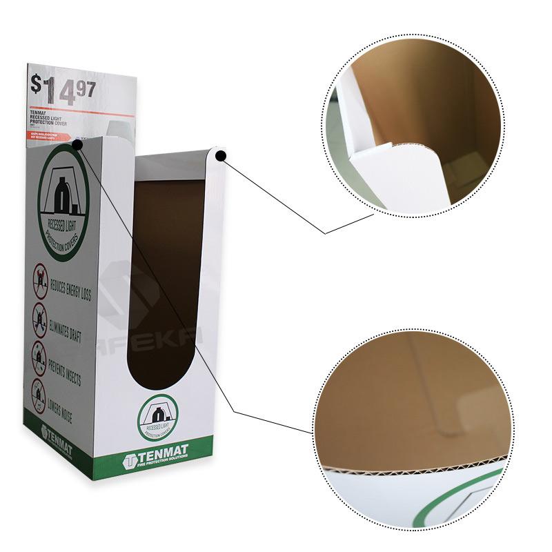 SAFEKA -Free Stand Point Of Sale Cardboard Dump Bin Customized Display Bins-1