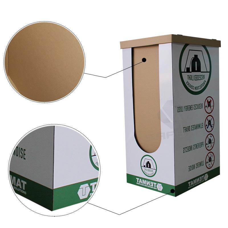 SAFEKA -Free Stand Point Of Sale Cardboard Dump Bin Customized Display Bins-2