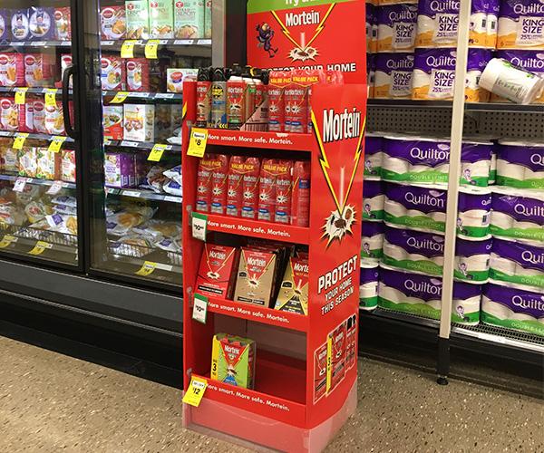 SAFEKA -Hot-sale Supermarkets Custom Promotional Cardboard Floor Display-6