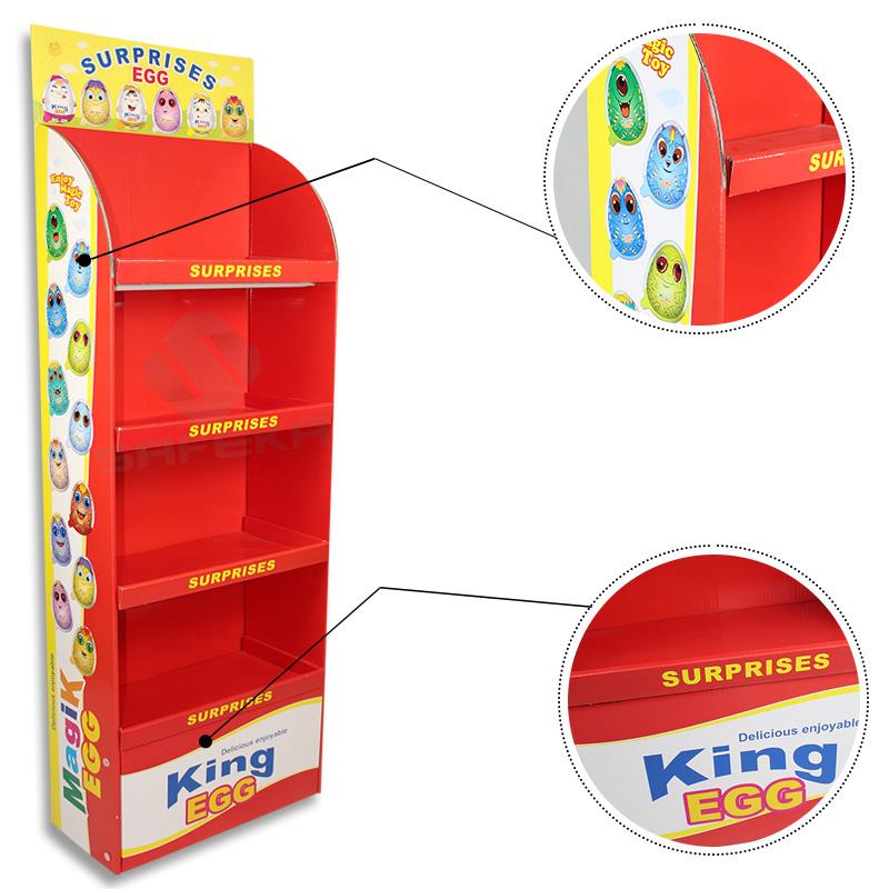 SAFEKA -Best Cardboard Floor Displays Retail Display Racks Manufacture-1