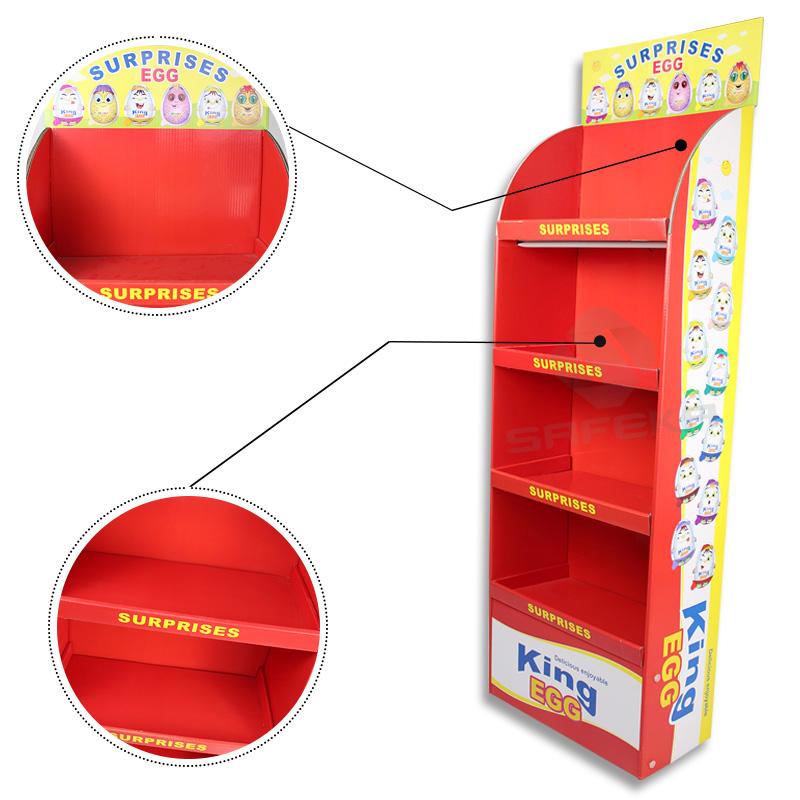 SAFEKA -Best Cardboard Floor Displays Retail Display Racks Manufacture-2