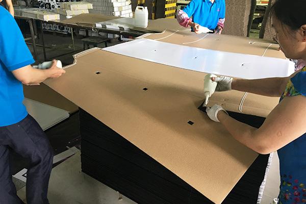 SAFEKA -2018 New Creative Customized Cardboard Floor Display Stands-11