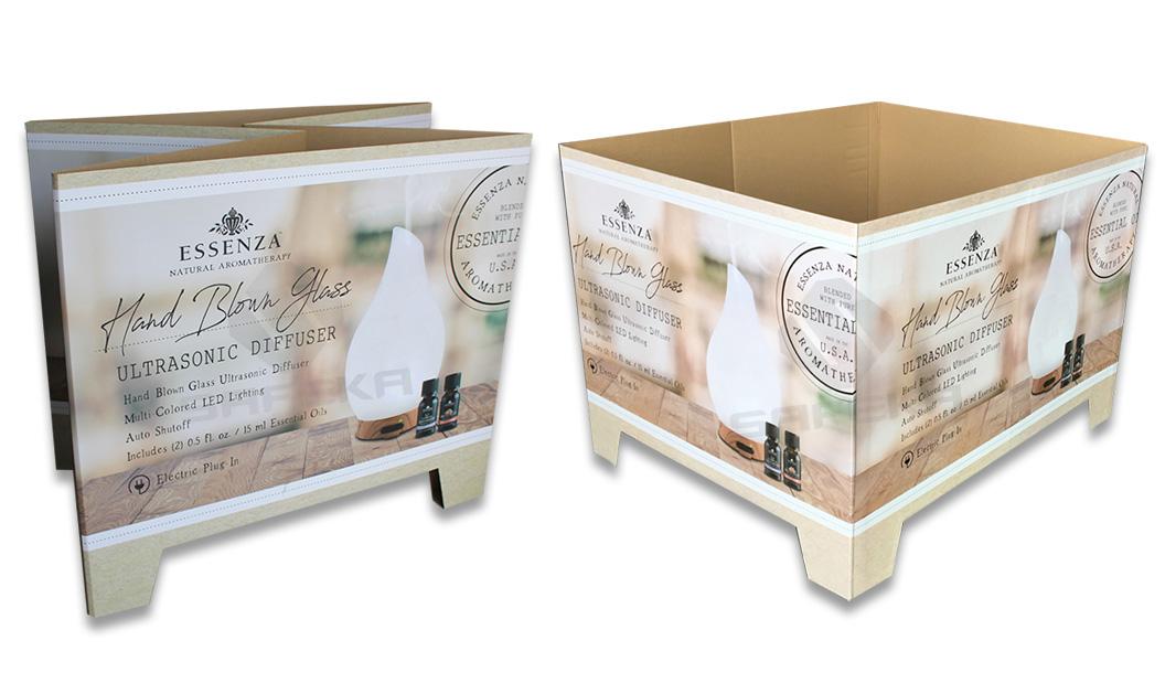 SAFEKA -Best Cardboard Counter Display Cardboard Pallet Retail Display-1