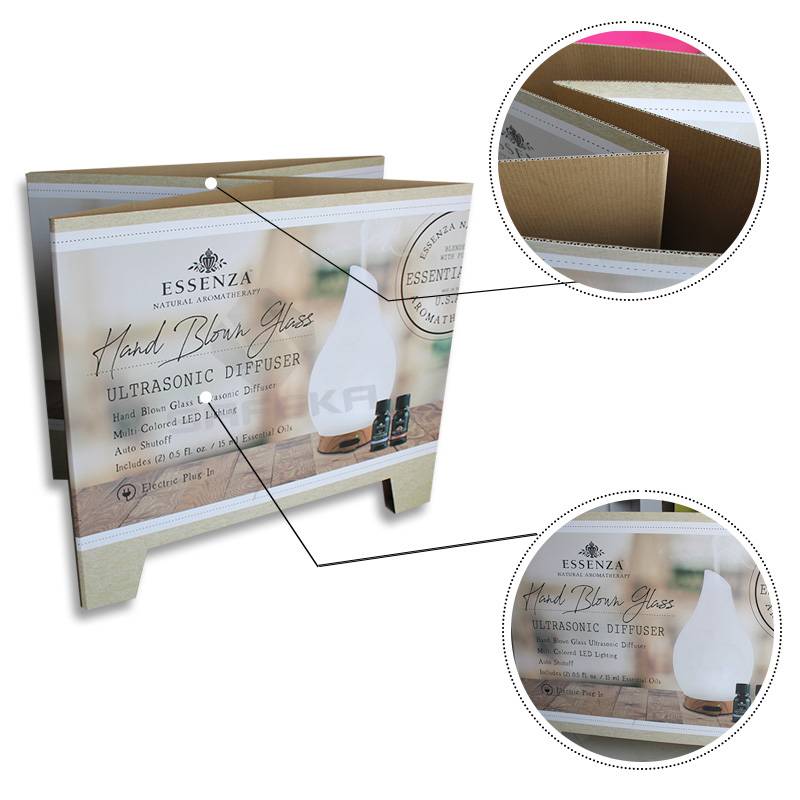 SAFEKA -Best Cardboard Counter Display Cardboard Pallet Retail Display-2