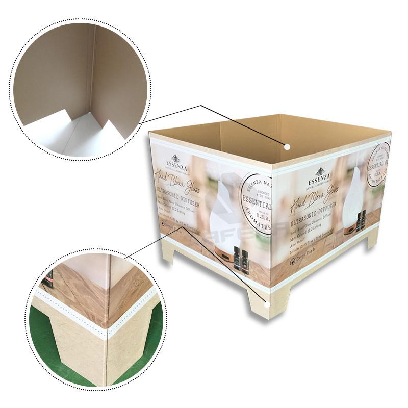 SAFEKA -Best Cardboard Counter Display Cardboard Pallet Retail Display-3