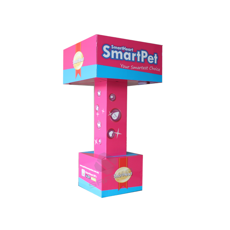 SAFEKA -Best Customized Pop Totem Stand Cardboard Ad For Floor Display