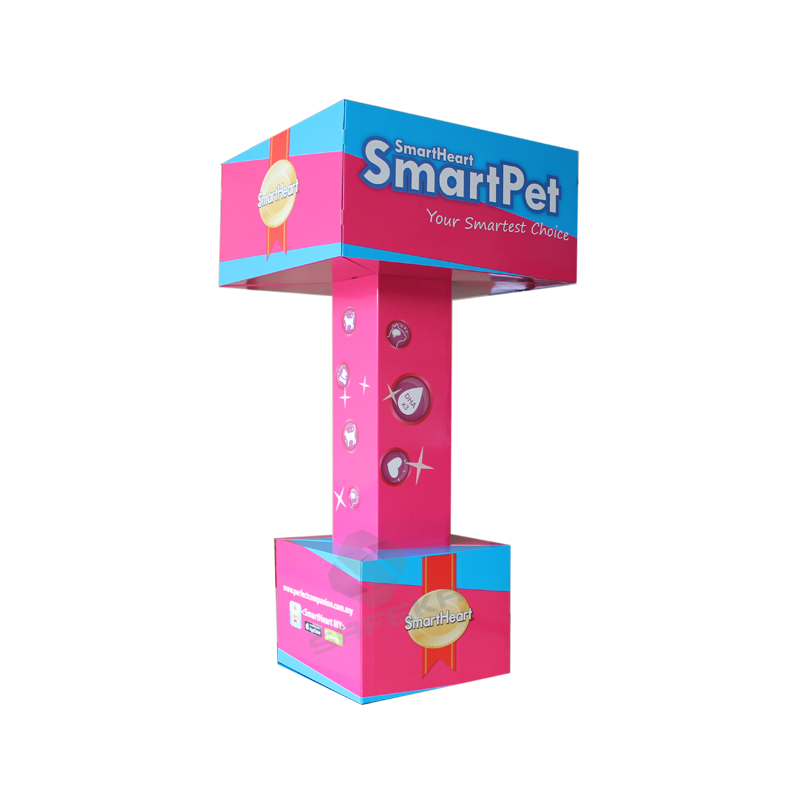 SAFEKA -Best Customized Pop Totem Stand Cardboard Ad For Floor Display-1