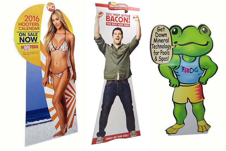 SAFEKA -Personalised Cardboard Cutout Floor Displays, Safeka Display Co,ltd-1