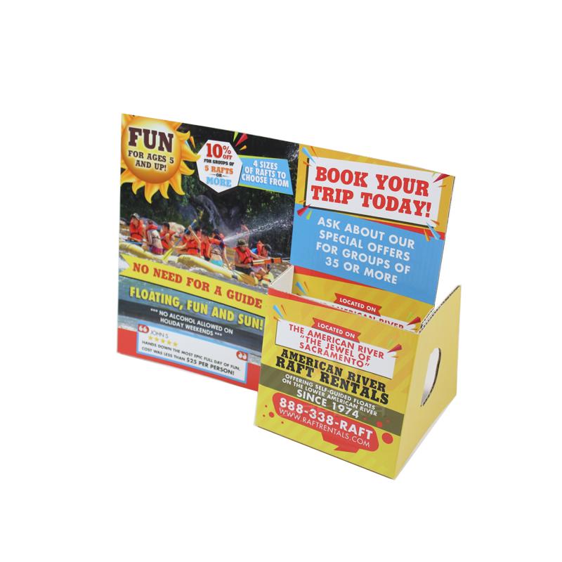 Custom Cardboard Standee Brochure Holder Display SS1911