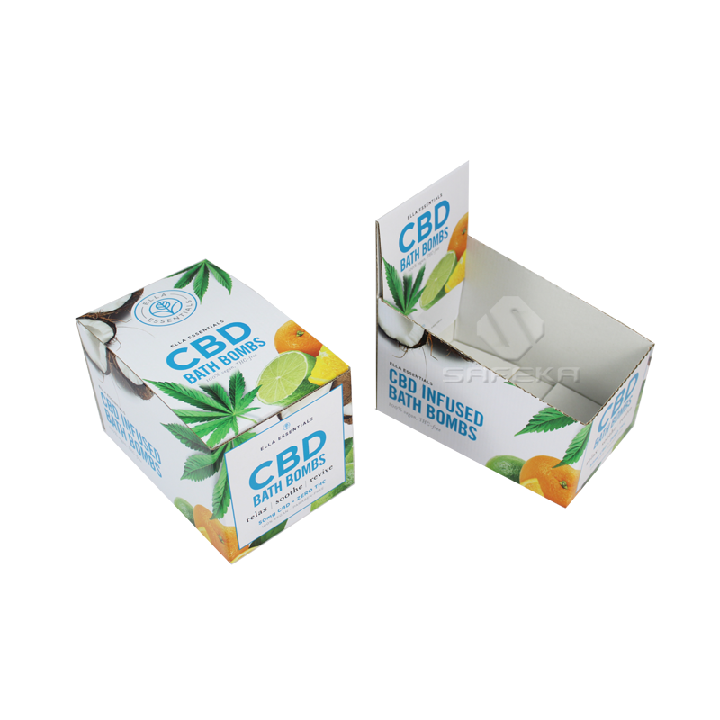 Cardboard Table Display Stands Box for CBD Oil SC1912