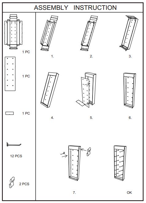 SAFEKA -Retail Display, Cardboard Side Wing Display Price List | Safeka-5