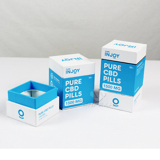 Small Gift Box Manufactureres Custom Boxes Packaging CBD PILL BOX