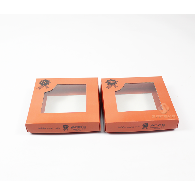 Packaging Box Manufacturer Product Box with Plastic Window