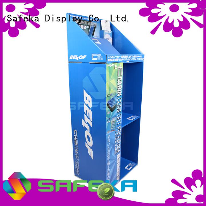 cardboard floor displays free floor display SAFEKA Brand