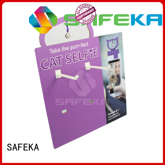 SAFEKA popular table top display at discount for wholesale