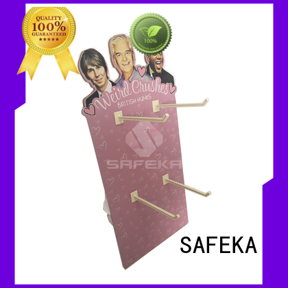 SAFEKA house cardboard display stands free delivery at sale