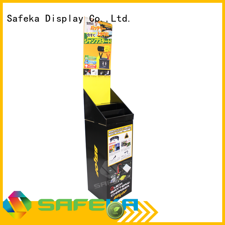 printed display stand dump bin display quarter SAFEKA