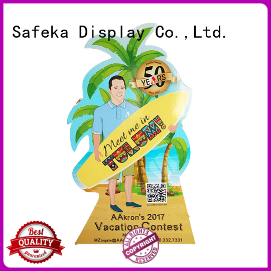 SAFEKA Brand floor cardboard cutout standees top factory