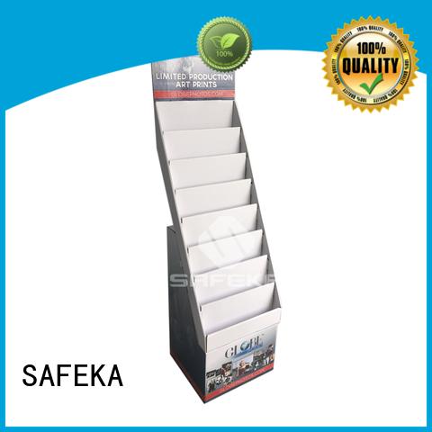 material or printed floor display SAFEKA Brand
