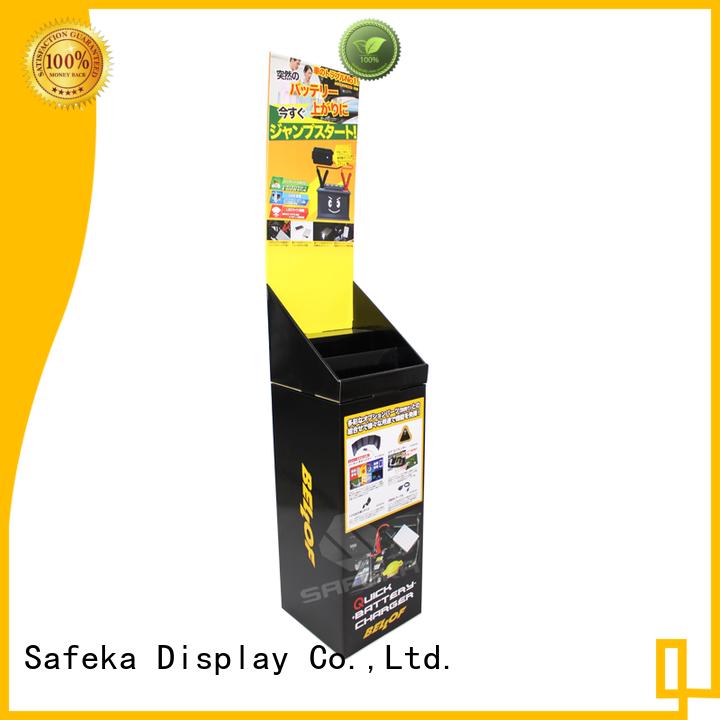 SAFEKA bins custom printed high quality for supermarket