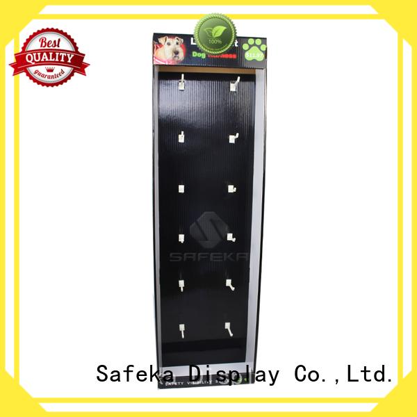 durable cardboard white retail display goods-promoting for bulk order SAFEKA