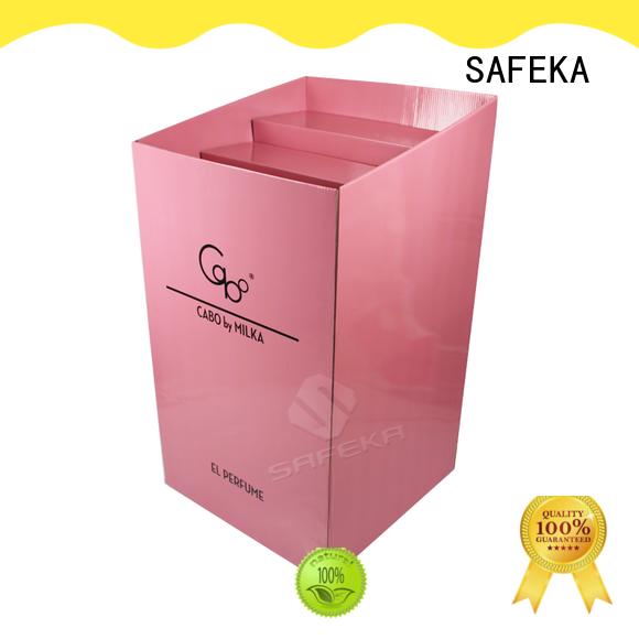 SAFEKA cosmetics display bins factory price for customization