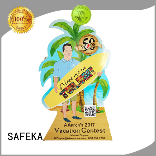 pegs customizedtoys cardboard cutout standees full SAFEKA Brand company