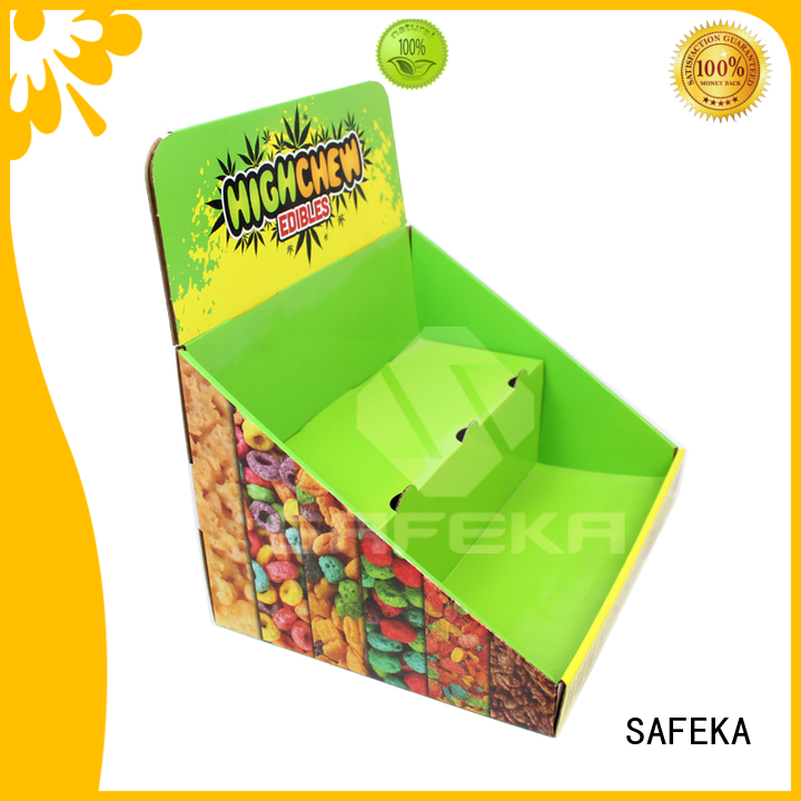 SAFEKA custom display counter promotional for wholesale