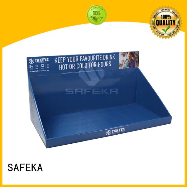 SAFEKA electronic retail counter displays promotional direct manufacturer